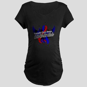 Congenital Heart Disease Aw Maternity Dark T-Shirt