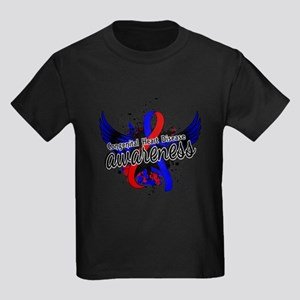 Congenital Heart Disease Awarene Kids Dark T-Shirt