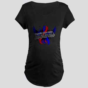 Congenital Heart Defect Awa Maternity Dark T-Shirt