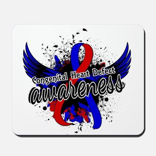 Congenital Heart Defect Awareness 16 Mousepad