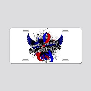 Congenital Heart Defect Awa Aluminum License Plate