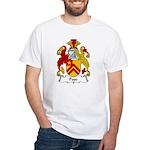 Pope Family Crest White T-Shirt