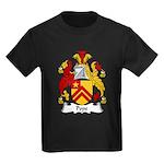 Pope Family Crest Kids Dark T-Shirt