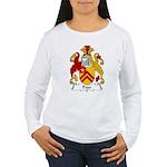 Pope Family Crest Women's Long Sleeve T-Shirt