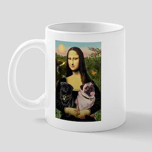 Mona's 2 Pugs Mug