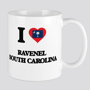 I love Ravenel South Carolina Mugs