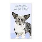 Cardigan Welsh Corgi Sticker (Rectangle 10 pk)