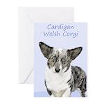 Cardigan Welsh Corgi Greeting Cards (Pk of 10)