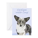 Cardigan Welsh Corgi Greeting Cards (Pk of 20)