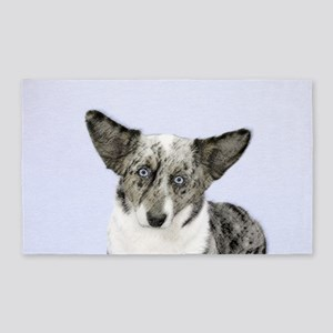 Cardigan Welsh Corgi Area Rug