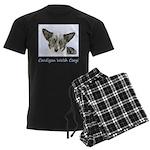 Cardigan Welsh Corgi Men's Dark Pajamas