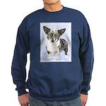 Cardigan Welsh Corgi Sweatshirt (dark)