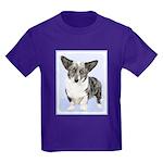 Cardigan Welsh Corgi Kids Dark T-Shirt