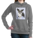 Cardigan Welsh Corgi Women's Hooded Sweatshirt