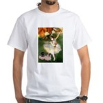 Dancer / 2 Pugs White T-Shirt
