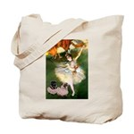 Dancer / 2 Pugs Tote Bag