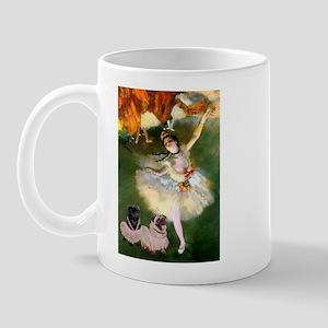 Dancer / 2 Pugs Mug