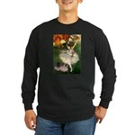 Dancer / 2 Pugs Long Sleeve Dark T-Shirt