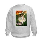 Dancer / 2 Pugs Kids Sweatshirt