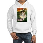 Dancer / 2 Pugs Hooded Sweatshirt