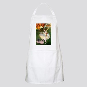 Dancer / 2 Pugs Apron