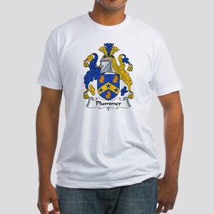 Plummer Family Crest Fitted T-Shirt