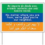Welcome Neighbor Yard Sign