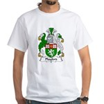 Playford Family Crest White T-Shirt