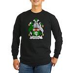 Playford Family Crest Long Sleeve Dark T-Shirt