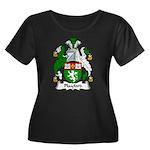 Playford Family Crest Women's Plus Size Scoop Neck