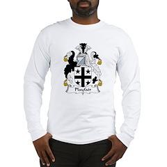 Playfair Family Crest Long Sleeve T-Shirt