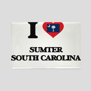 I love Sumter South Carolina Magnets