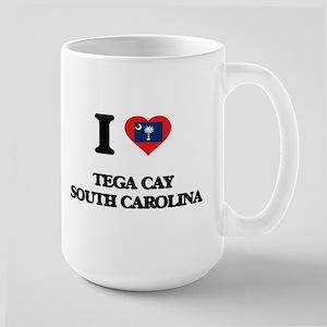 I love Tega Cay South Carolina Mugs