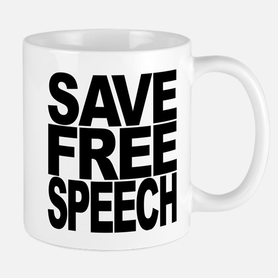 Save Free Speech Mug