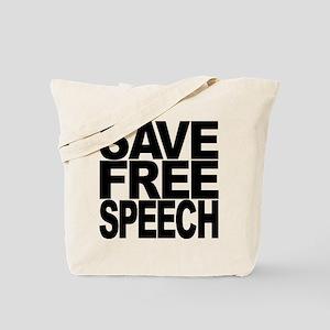 Save Free Speech Tote Bag