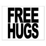 Free Hugs Small Poster