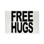 Free Hugs Rectangle Magnet (10 pack)