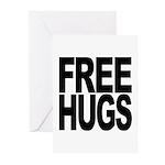 Free Hugs Greeting Cards (Pk of 10)