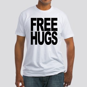Free Hugs Fitted T-Shirt