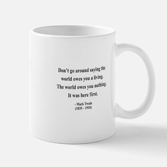 Mark Twain 5 Mug