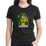 Pinkerton Family Crest Women's Dark T-Shirt