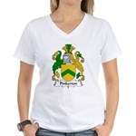 Pinkerton Family Crest Women's V-Neck T-Shirt
