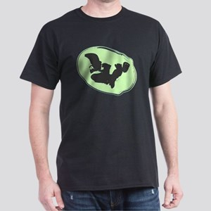Baby Silhouette Lime Green Dark T-Shirt