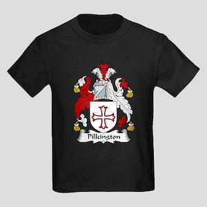 Pilkington Family Crest Kids Dark T-Shirt