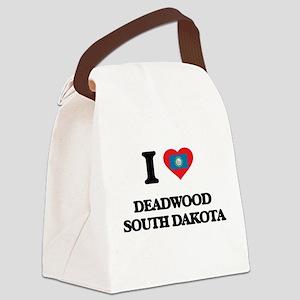 I love Deadwood South Dakota Canvas Lunch Bag