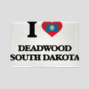 I love Deadwood South Dakota Magnets