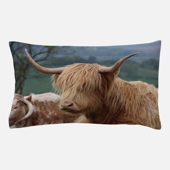 Cute Highland cow Pillow Case