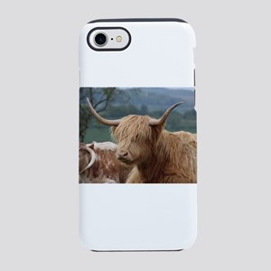 Highland cattle iPhone 7 Tough Case