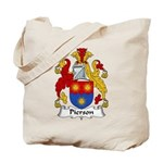 Pierson Family Crest Tote Bag