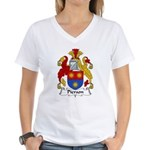 Pierson Family Crest Women's V-Neck T-Shirt